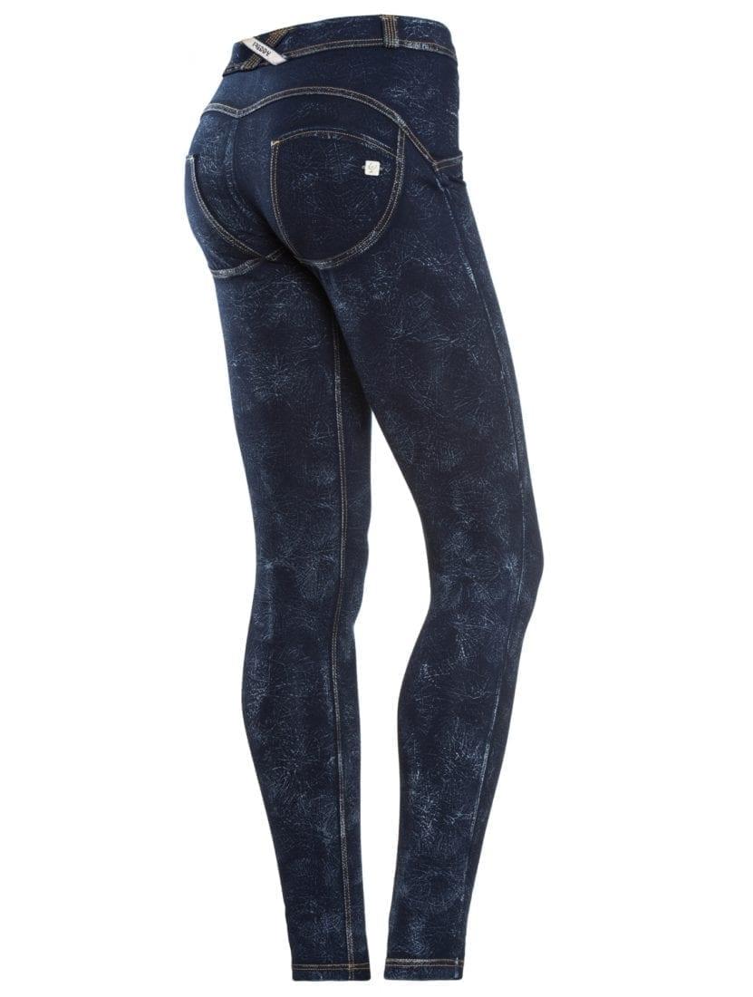 Freddy WR.UP® Shaping Effect Low Rise Women Pants Skinny Fit Stretch Denim Black